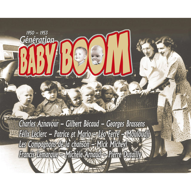 Couverture de Génération Baby Boom (1950-1953)