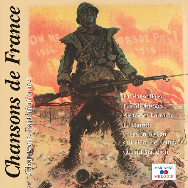 """Couverture de Chansons patriotiques (Collection """"Chansons de France"""")"""