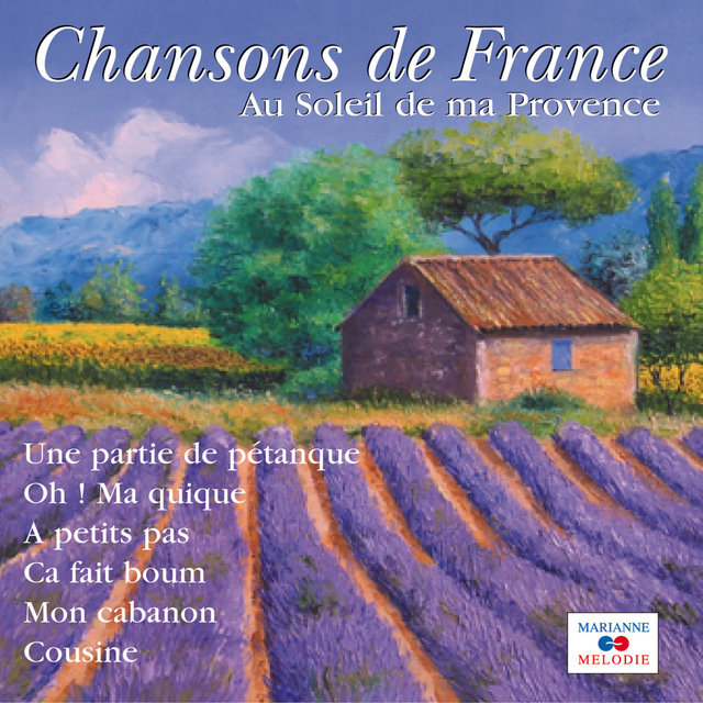 "Couverture de Au soleil de ma Provence (Collection ""Chansons de France"")"