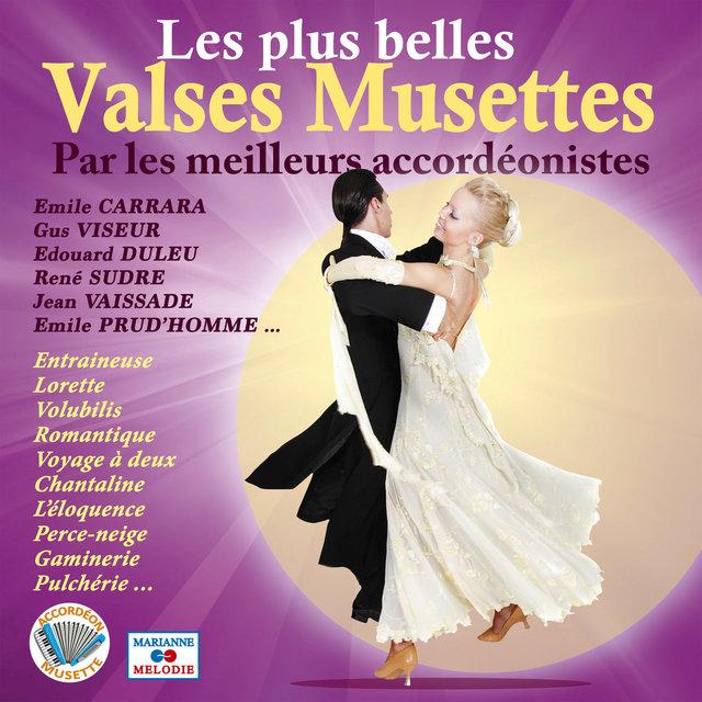 """Les plus belles valses musettes (Collection """"Accordéon musette"""")"""