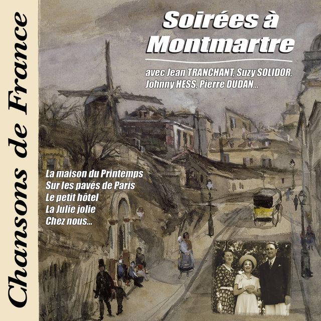 """Couverture de Soirées à Montmartre (Collection """"Chansons de France"""")"""