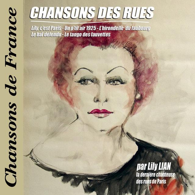 """Chansons des rues (Collection """"Chansons de France"""")"""