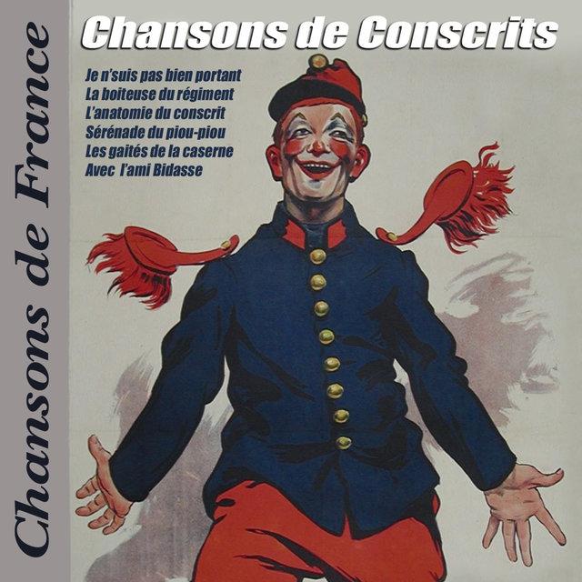 """Couverture de Chansons de Conscrits (Collection """"Chansons de France"""")"""