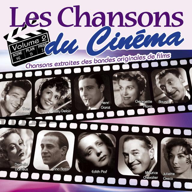 Couverture de Les chansons du cinéma, Vol. 2