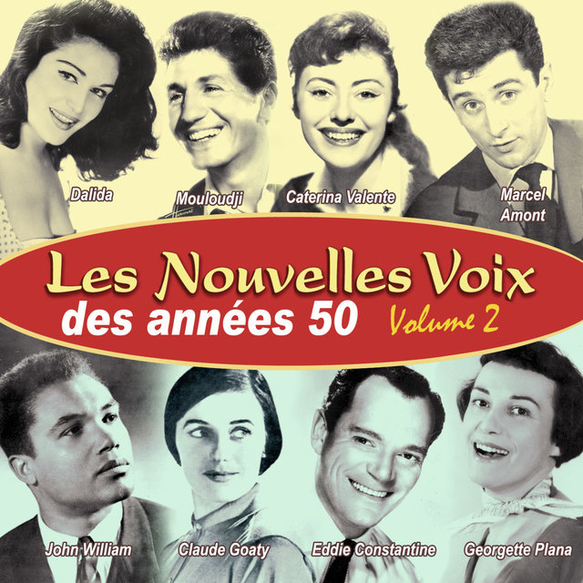 Couverture de Les nouvelles voix des années 50, Vol. 2