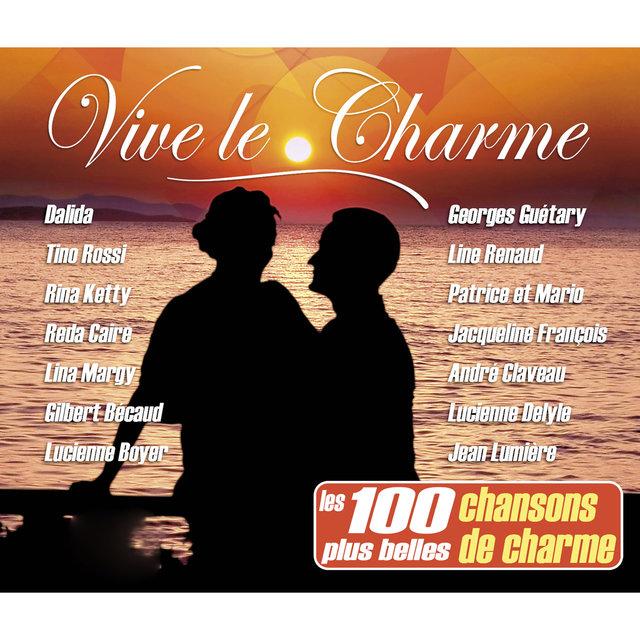 Couverture de Vive le charme (Les 100 plus belles chansons de charme)