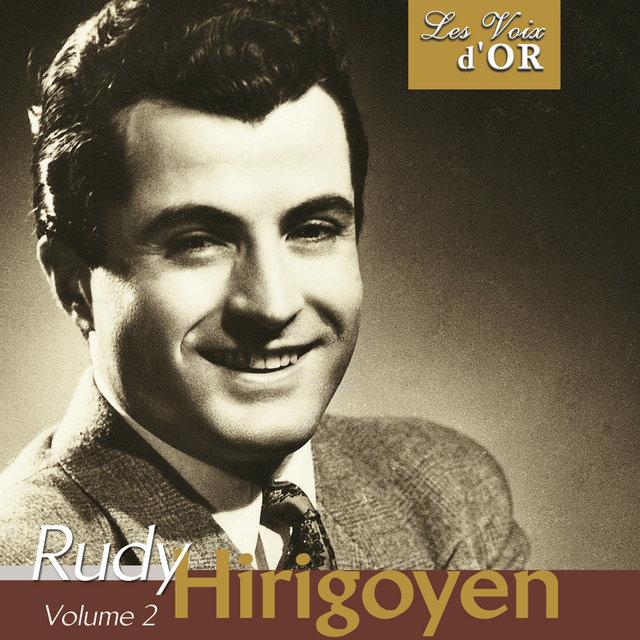"""Couverture de Rudy Hirigoyen, Vol. 2 (Collection """"Les voix d'or"""")"""