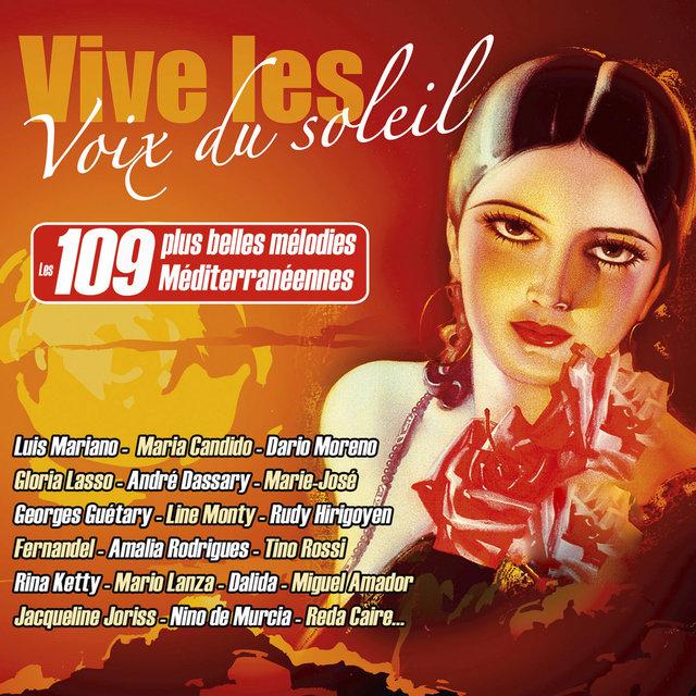 Couverture de Vive les voix du soleil, les 109 plus belles mélodies méditerranéennes