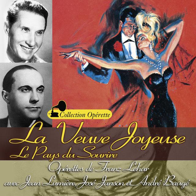 """Couverture de La veuve joyeuse - Le pays du sourire (Collection """"Opérette"""")"""