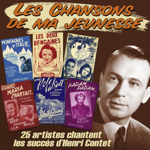 """25 artistes chantent les succès d'Henri Contet (Collection """"Les chansons de ma jeunesse"""")"""