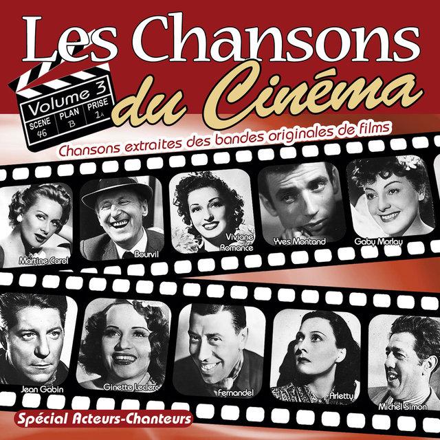 Couverture de Les chansons du cinéma, Vol. 3