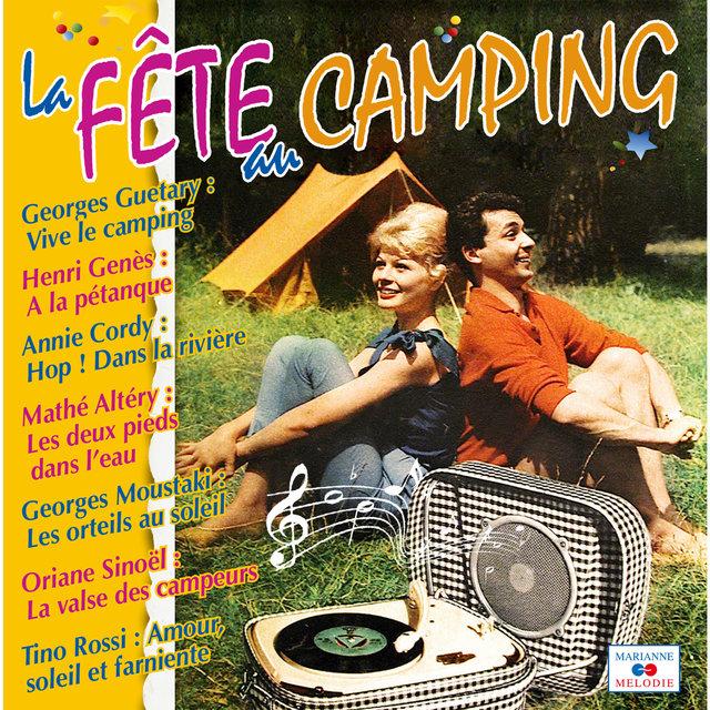 Couverture de La fête au camping