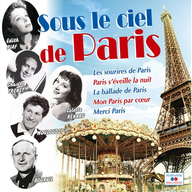 Couverture de Sous le ciel de Paris