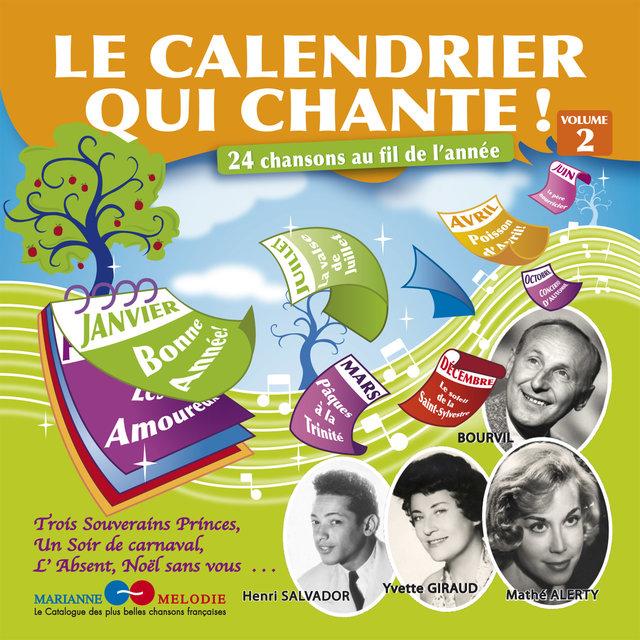 Couverture de Le calendrier qui chante !, Vol. 2