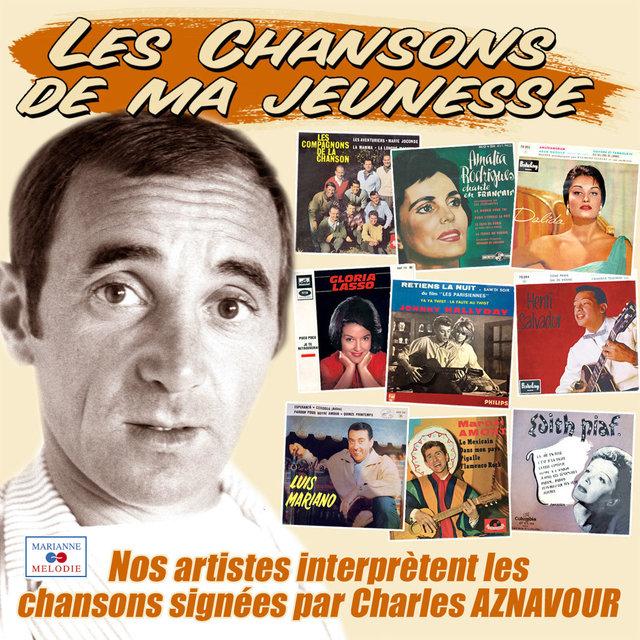 """Couverture de Les succès de Charles Aznavour (Collection """"Les chansons de ma jeunesse"""")"""