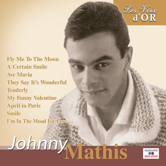 """Couverture de Johnny Mathis (Collection """"Les voix d'or"""")"""