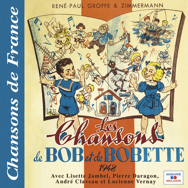 """Les chansons de Bob et Bobette 1948 (Collection """"Chansons de France"""")"""