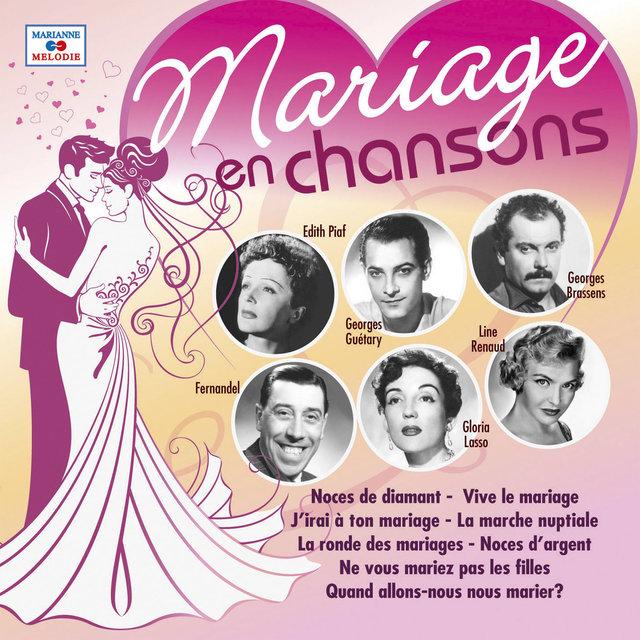 Couverture de Mariage en chansons