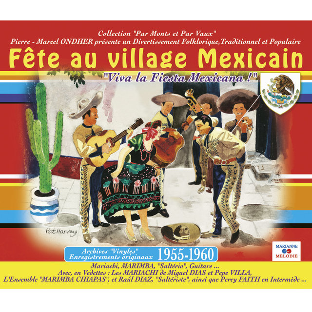 """Fête au village mexicain (Collection """"Par monts et par vaux"""")"""