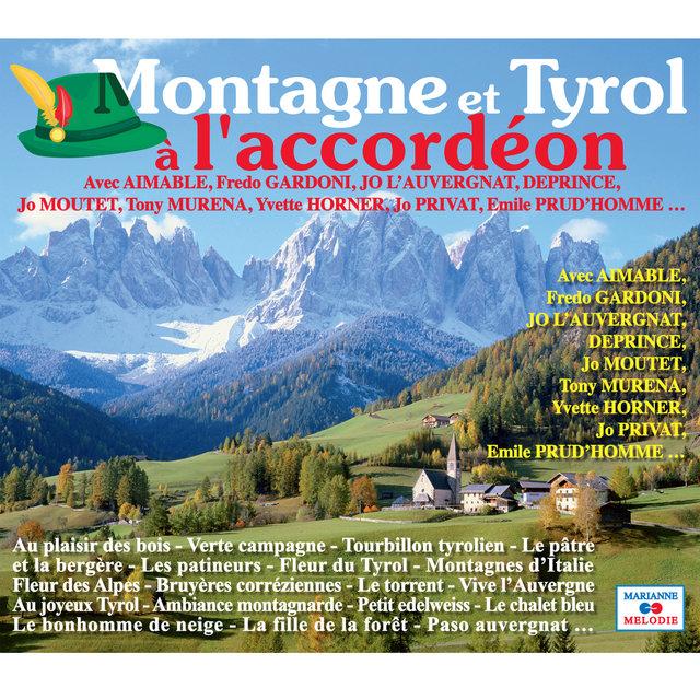 Couverture de Montagne et Tyrol à l'accordéon