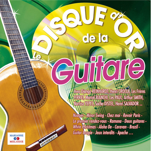 Couverture de Le disque d'or de la guitare