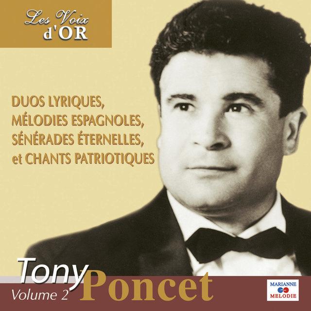 """Tony Poncet, Vol. 2 (Collection """"Les voix d'or"""")"""