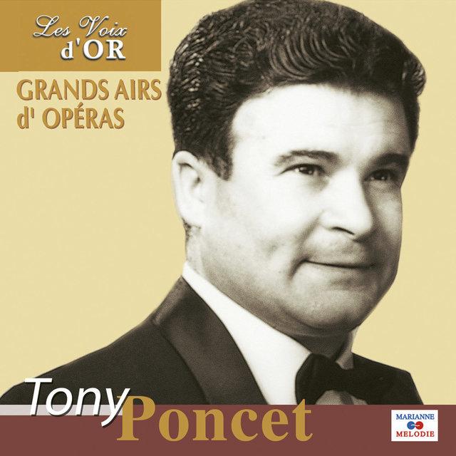 """Tony Poncet, Vol. 1 (Collection """"Les voix d'or"""")"""