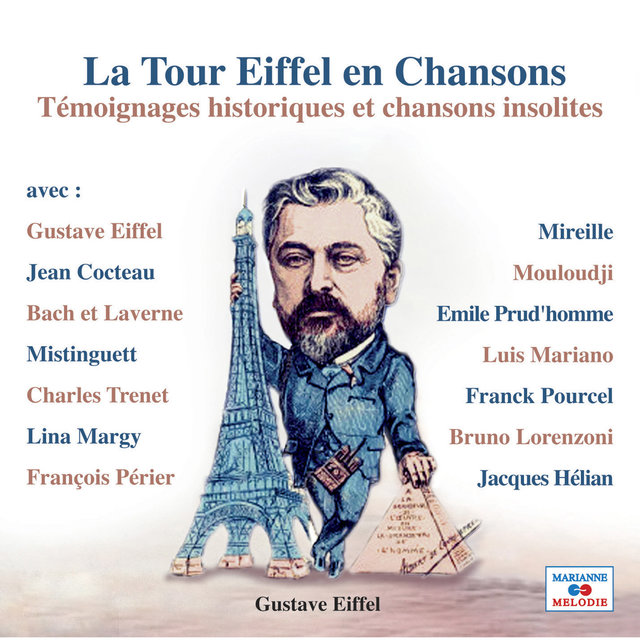 Couverture de La Tour Eiffel en chansons