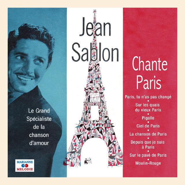 Couverture de Jean Sablon chante Paris