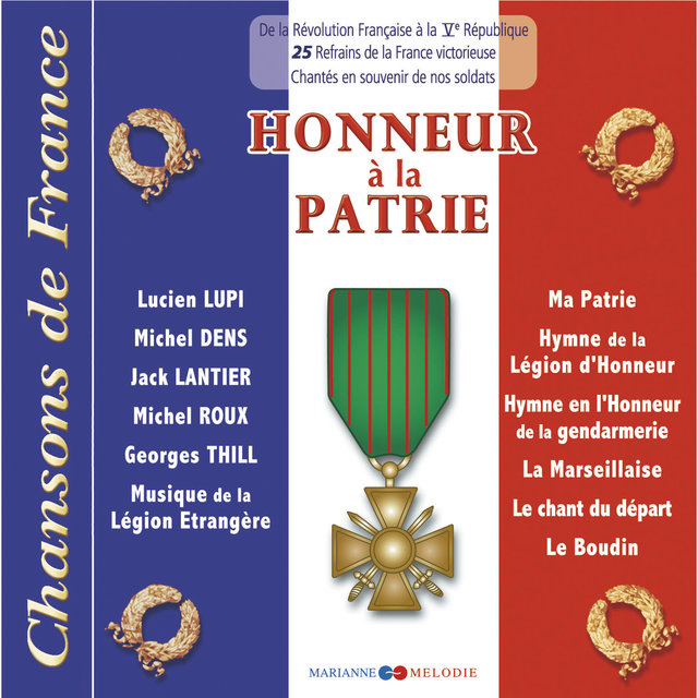 "Honneur à la patrie (Collection ""Chansons de France"")"