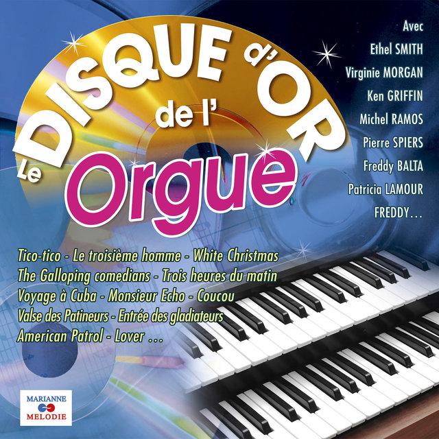 Le disque d'or de l'orgue