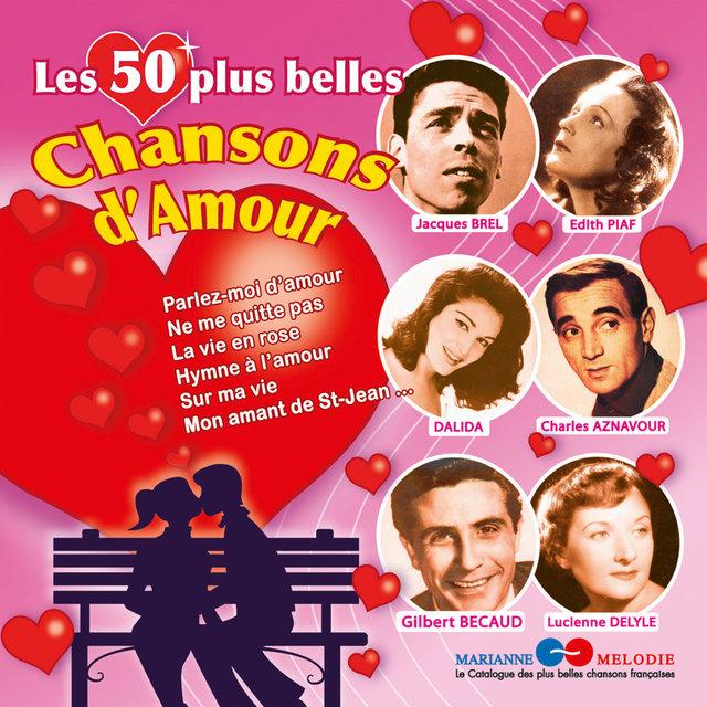Couverture de Les 50 plus belles chansons d'amour