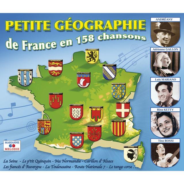 Couverture de Petite géographie de France en 158 chansons