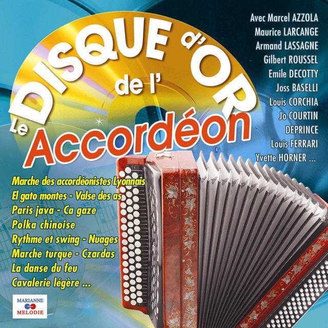 Couverture de Le disque d'or de l'accordéon