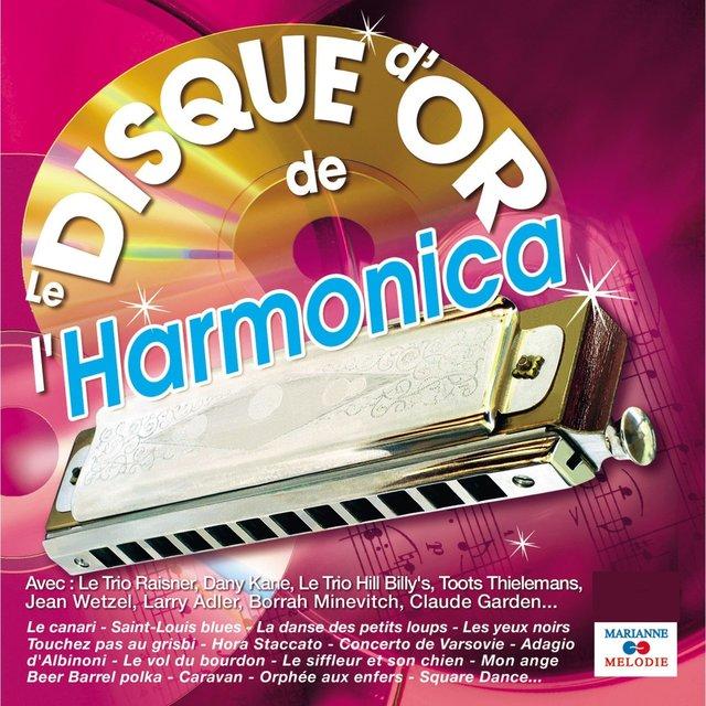 Le disque d'or de l'harmonica