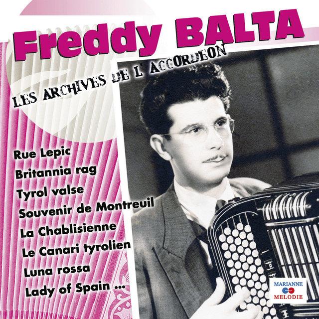"""Freddy Balta (Collection """"Les archives de l'accordéon"""")"""