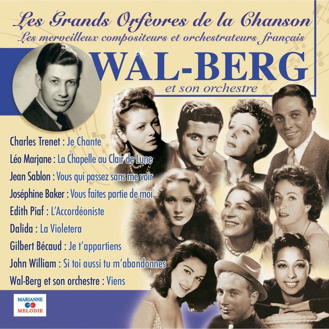 """Couverture de Wal-Berg et son orchestre (Collection """"Les grands orfèvres de la chanson"""")"""