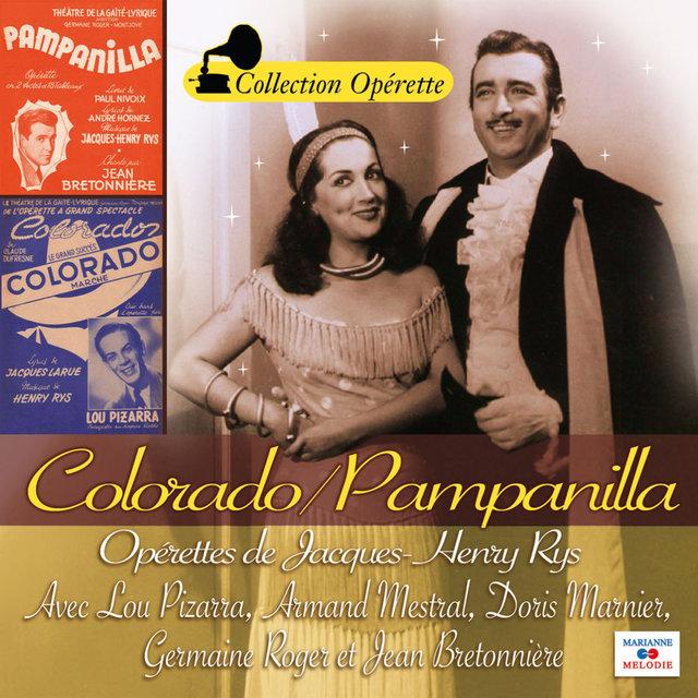 "Jacques-Henri Rys: Colorado / Pampanilla (Collection ""Opérette"")"