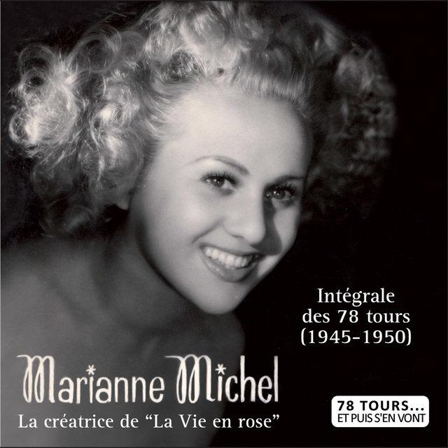 """Couverture de La créatrice de """"La vie en rose"""", intégrale des 78 tours (1945-1950) (Collection """"78 tours... et puis s'en vont"""")"""