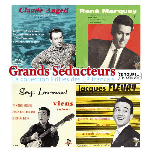 """Grands séducteurs, la collection Fifties des EP français (Collection """"78 tours... et puis s'en vont"""")"""