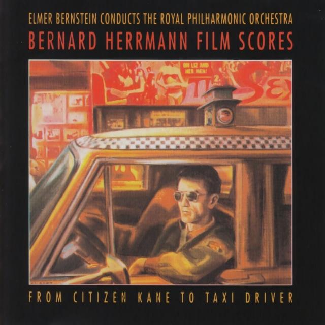 Couverture de Bernard Herrman Films Scores