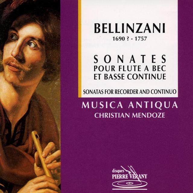 Bellinzani : Sonates pour flûte à bec & basse continue