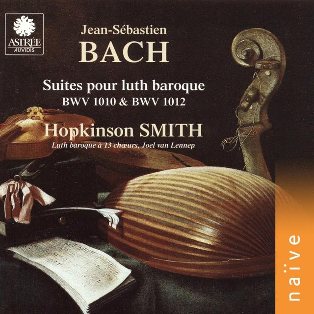 J. S. Bach: Suites arrangées pour luth baroque