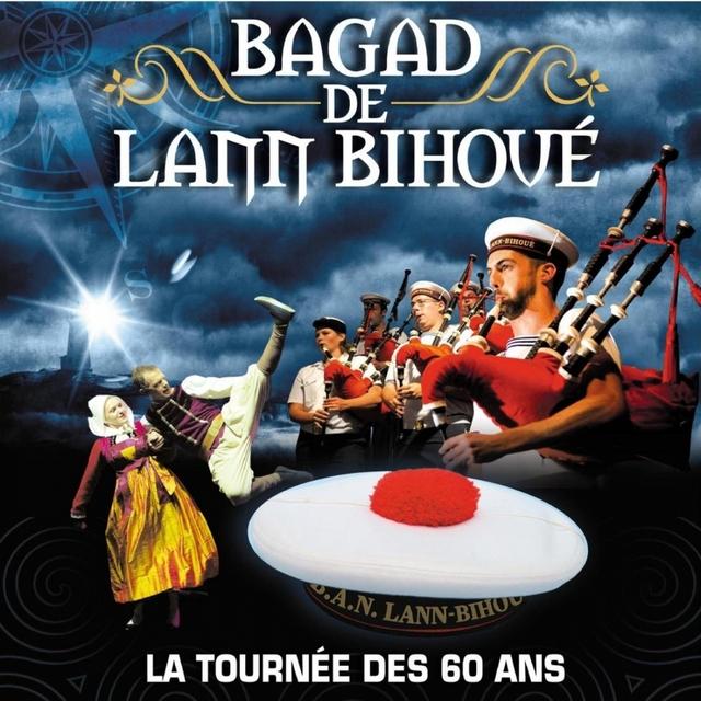 Bagad de Lann Bihoué, la tournée des 60 ans