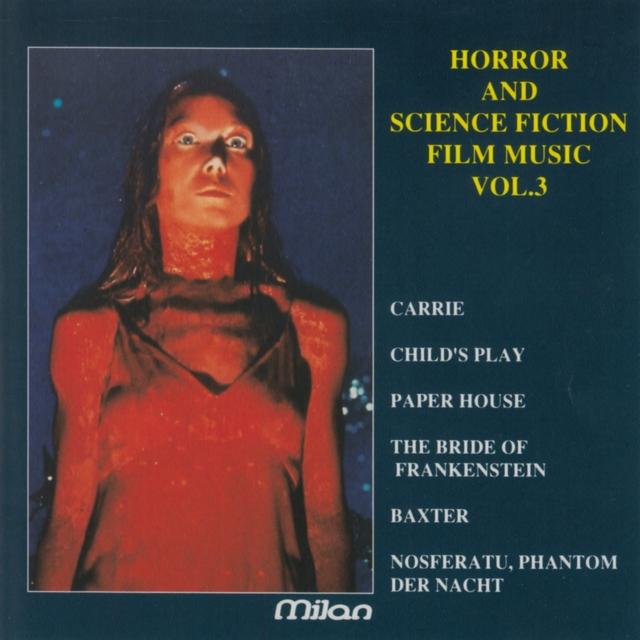 Couverture de Horror and Science Fiction, Vol. 3