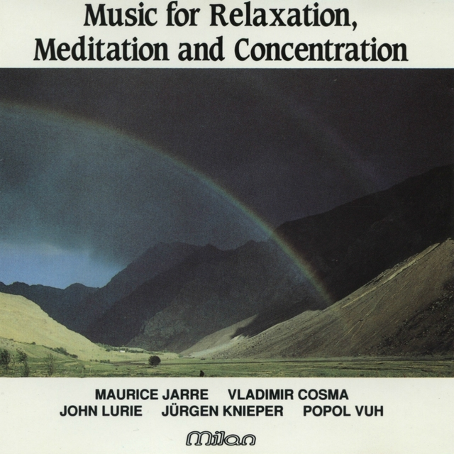 Couverture de Music for Relaxation, Meditation and Concentration