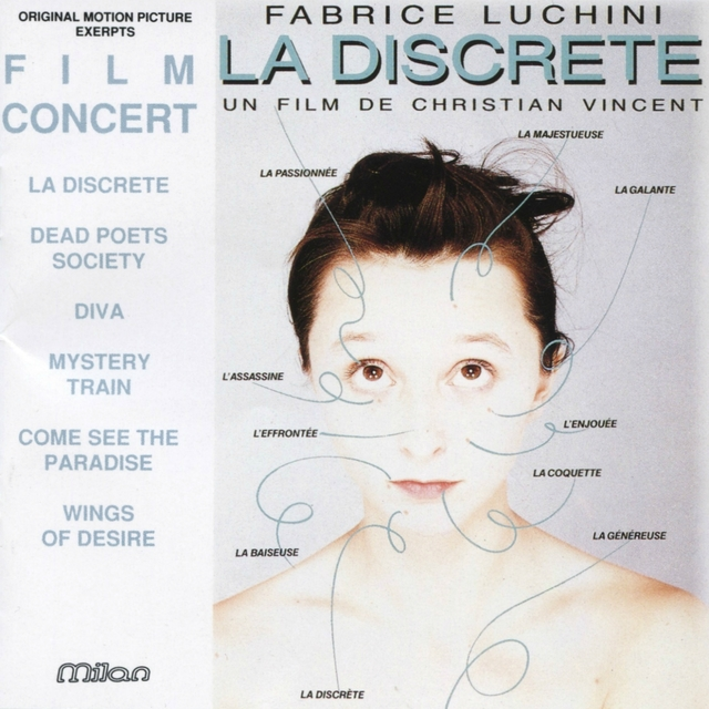 Couverture de La discrète (Film Concert)