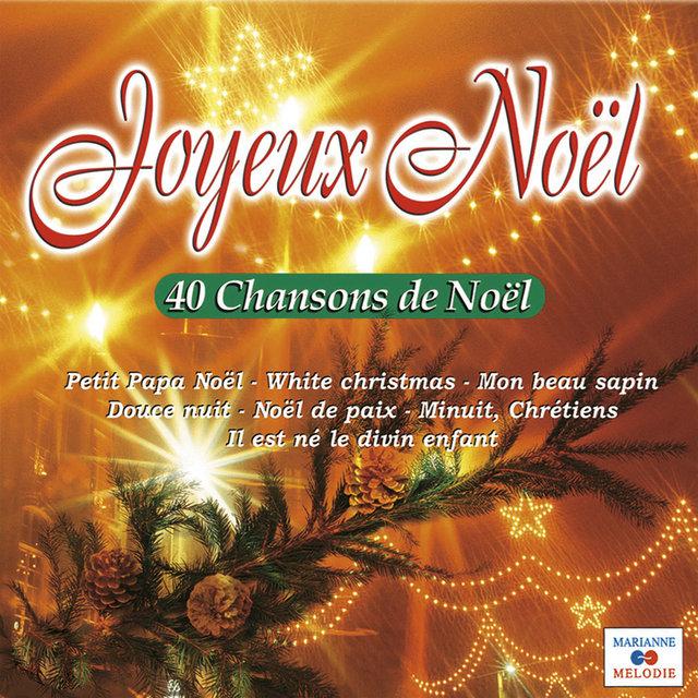 Couverture de Joyeux Noël (40 chansons de Noël)