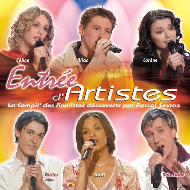 Entrée d'Artistes (La compil' des finalistes découverts par Pascal Sevran)