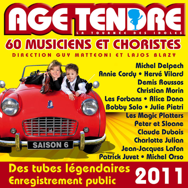 Age tendre… La tournée des idoles, Vol. 6